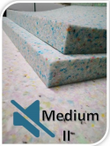 Panel Quiet Foam ( Medium II ) 1000x1000x40mm - 2szt.