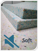 Panel Quiet Foam ( Soft )  1000x1000x30mm - 2szt.
