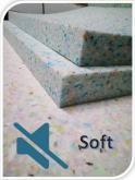 Panel Quiet Foam ( Soft ) 1000x1000x40mm - 2szt.
